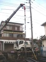 鋼管杭 打設 上白根の家(1).JPG